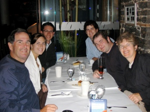 A wonderful family dinner in Quebec City