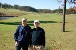 Jim and Richard - Robert Trent Jones course